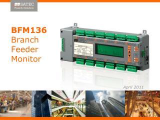 BFM136  Branch  Feeder  Monitor