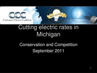 Cutting electric rates in Michigan