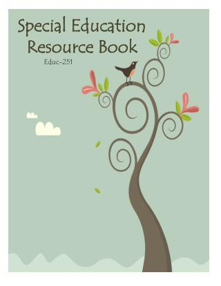 Special Education Resource Book