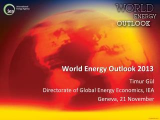 World Energy Outlook 2013