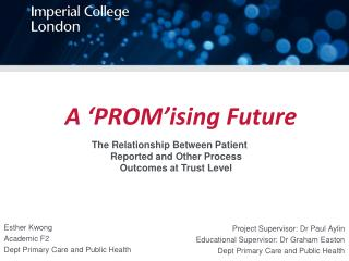 A ' PROM'ising  Future
