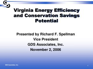 Virginia Energy Efficiency and Conservation Savings Potential
