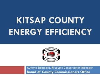 Kitsap county energy EFFICIENCY