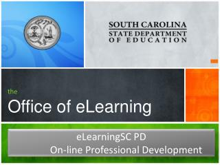the Office of eLearning