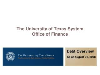 The University of Texas System Office of Finance