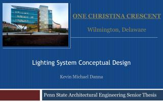 Penn State Architectural Engineering Senior Thesis