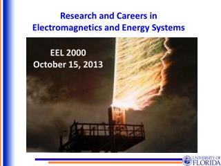 Research and Careers in Electromagnetics and Energy Systems