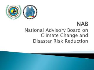 NAB National Advisory Board on Climate Change and Disaster Risk Reduction