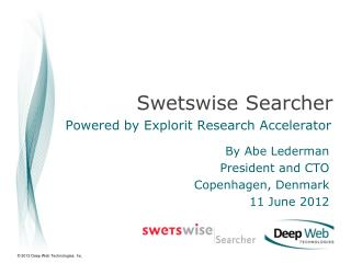 Swetswise  Searcher