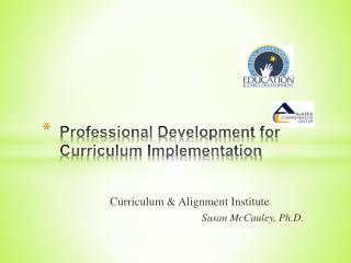 Professional Development for Curriculum Implementation