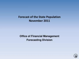 Forecast of the State Population November 2011