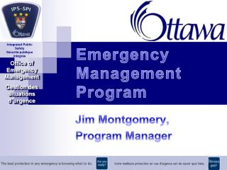 Emergency Management Program