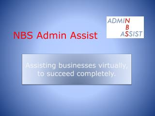 NBS Admin Assist