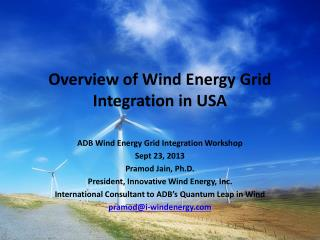 Overview of Wind Energy Grid Integration in USA