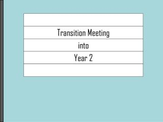 Transition Meeting