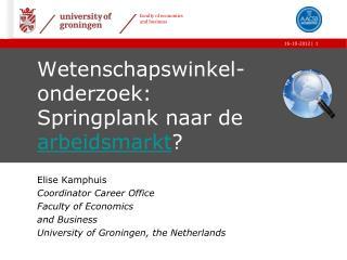 Wetenschapswinkel-onderzoek: Springplank naar de  arbeidsmarkt ?