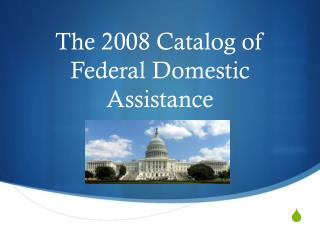 The 2008 Catalog of Federal Domestic Assistance