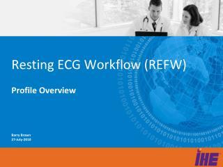 Resting ECG Workflow (REFW)