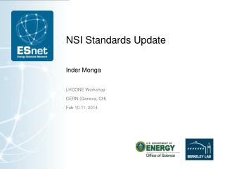 NSI Standards Update