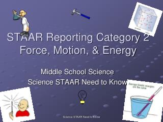 STAAR Reporting Category 2 Force, Motion, & Energy