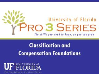 Classification and  Compensation Foundations