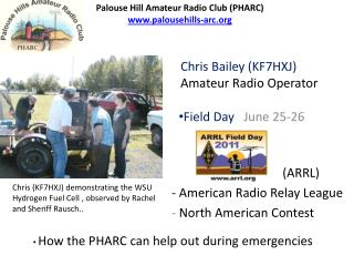 Field Day    June 25-26                                      - American Radio Relay League           -  North American