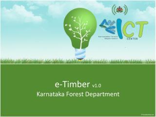e-Timber  v1.0