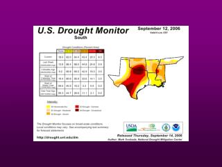 Water Forecast:    What  South-Central U.S. Natural  Resource  Managers Should  Expect in the Coming Years