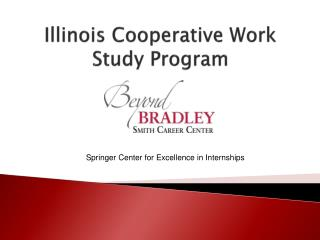 Illinois Cooperative Work Study Program