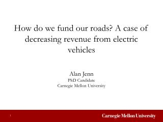 How do we fund our roads? A case of decreasing revenue from electric vehicles