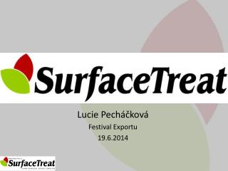 Lucie Pecháčková Festival Exportu 19.6.2014