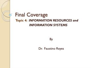 Final Coverage