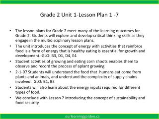 Grade 2 Unit 1-Lesson Plan 1 -7