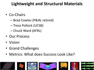 Lightweight and Structural Materials