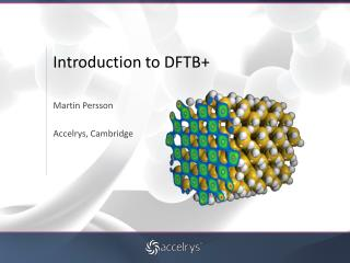 Introduction to DFTB+