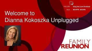 Welcome to  Dianna Kokoszka Unplugged