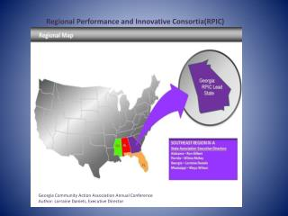 Regional Performance and Innovative Consortia(RPIC)