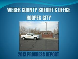 WEBER COUNTY SHERIFF'S OFFICE HOOPER CITY