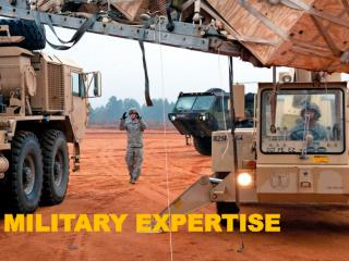 MILITARY EXPERTISE