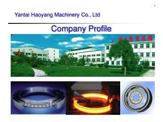 Yantai Haoyang Machinery Co.,  Ltd