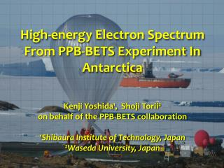 High-energy Electron Spectrum From PPB-BETS Experiment In Antarctica