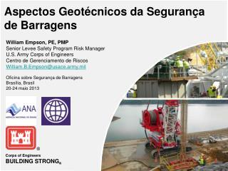 Aspectos Geotécnicos da Segurança de Barragens