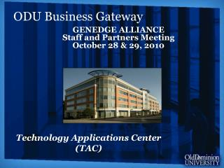 Technology Applications Center (TAC)