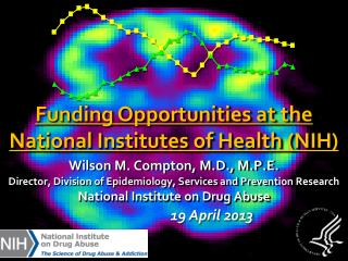 Wilson M. Compton, M.D., M.P.E. Director, Division of Epidemiology, Services and Prevention Research National Institute