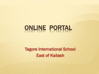 Online   portal