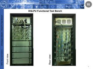 DQLPU Functional Test Bench