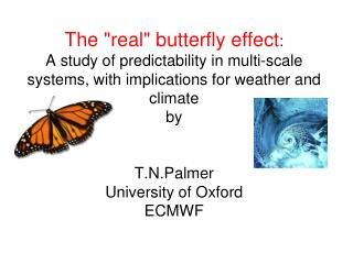 """"""" The Butterfly Effect  is a phrase that encapsulates the more technical notion of sensitive dependence on initial cond"""