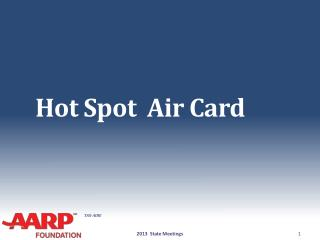 Hot  Spot  Air Card