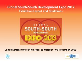 Global South-South Development Expo 2012 Exhibition Layout and Guidelines