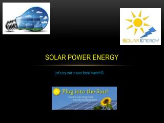 Solar Power Energy